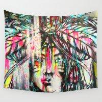 destiny Wall Tapestries featuring Destiny by Mo Baretta