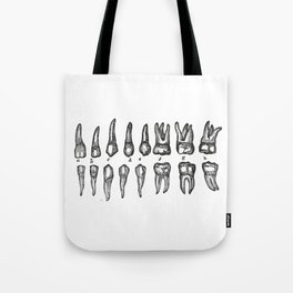 Teeth Dientes Dents Zähne зубы Tote Bag