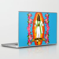 aaliyah Laptop & iPad Skins featuring Lady Aaliyah by Samantha Marie