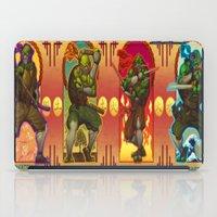teenage mutant ninja turtles iPad Cases featuring Teenage Mutant Ninja Turtles TMNT by Brian Hollins art