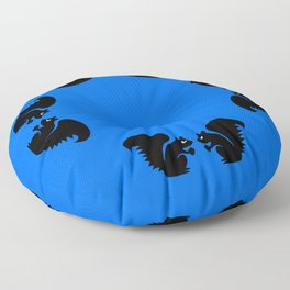 Angry Animals: Squirrel Floor Pillow