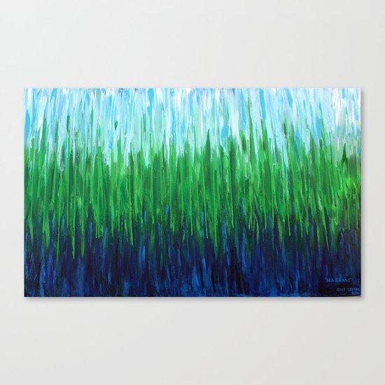 :: Sea Grass :: Canvas Print