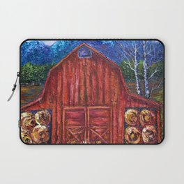 Red Barn by Lena Owens Laptop Sleeve