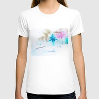 preppy T-shirts featuring Preppy Beach by EPART