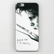 Edward Scissorhands iPhone & iPod Skin