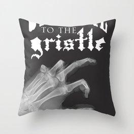 Official tothe Gristle-E Throw Pillow