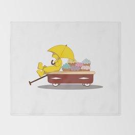 Spring Showers Throw Blanket