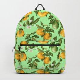 Citrus fruit tree blossom Backpack