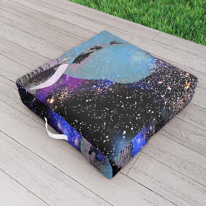 Elephant #6 Outdoor Floor Cushion