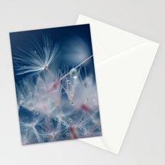 Snow Dandelion Stationery Cards