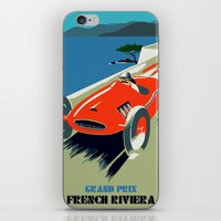 grand theft auto iPhone & iPod Skins featuring Retro style auto Grand Prix Rivièra by aapshop