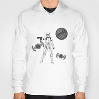 storm trooper Hoodies featuring storm trooper by Agentsassy