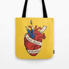Head, heart & hustle Tote Bag
