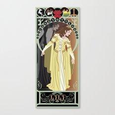 Lili Nouveau - Legend Canvas Print