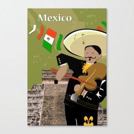 Hispanic Heritage Series - Mariachi Canvas Print
