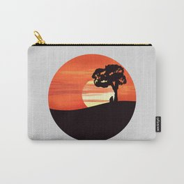 Sunset Lovers Carry-All Pouch