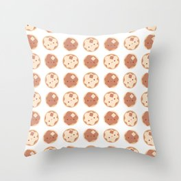 Pancake for breakfast! Throw Pillow