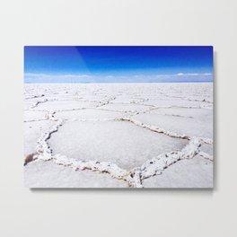 Bolivian Salt Flats Metal Print