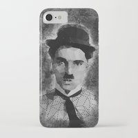 chaplin iPhone & iPod Cases featuring Chaplin by Dino cogito