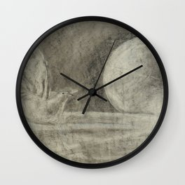 Still Flight Wall Clock
