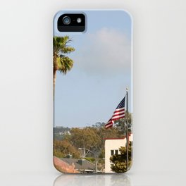 Palm Tree Flag iPhone Case
