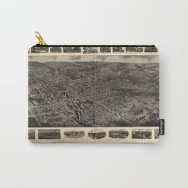 Bird's Eye View of Bristol, Connecticut (1907) Carry-All Pouch