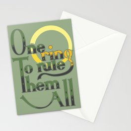 One Ring Stationery Cards
