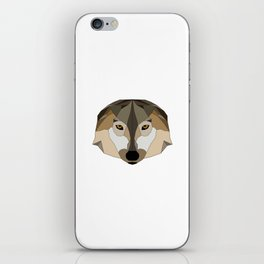 Low Poly Wolf - Animals iPhone Skin