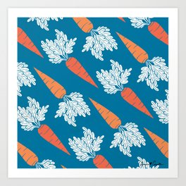 Carrots II Art Print