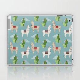 Cute Llamas Illustration Laptop & iPad Skin