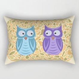 Owl Gaze Rectangular Pillow