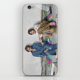 John and Paul get away from it all iPhone Skin