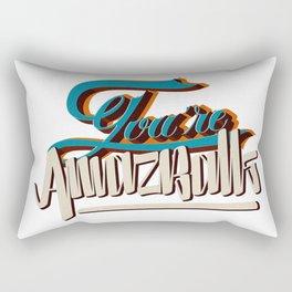 YOU'RE AMAZBALLS Rectangular Pillow