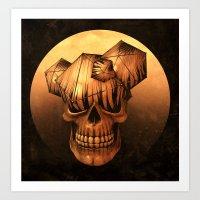 SHI*T.BRAIN Art Print