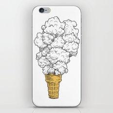 Volcano ice cream iPhone & iPod Skin