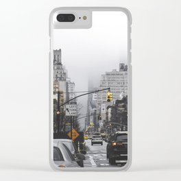 New York City Street Clear iPhone Case