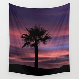Palm Sunset - 8 Wall Tapestry