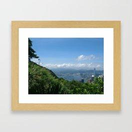 Cityscape - HK2 Framed Art Print
