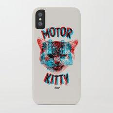 Motor Kitty iPhone X Slim Case