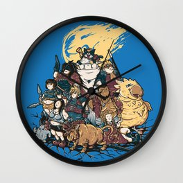 FF7 - FULL FAT 7 Wall Clock