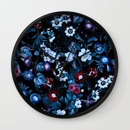 Night Garden XXXII Wall Clock