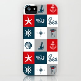 Nautical design 4 iPhone Case