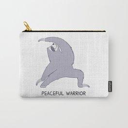 Happy Yogi Sloth - Peaceful warrior Carry-All Pouch
