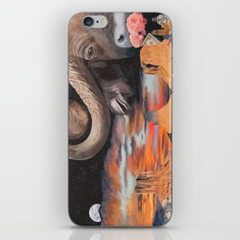 Taurus- The Zodiac Wildlife Series iPhone Skin