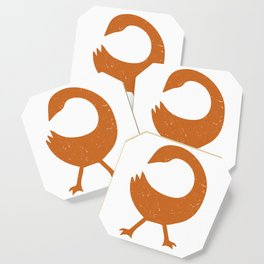 The Sankofa bird | West African Symbolism - Adinkra Coaster