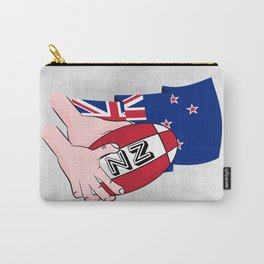 Rugby Ball New Zealand Carry-All Pouch