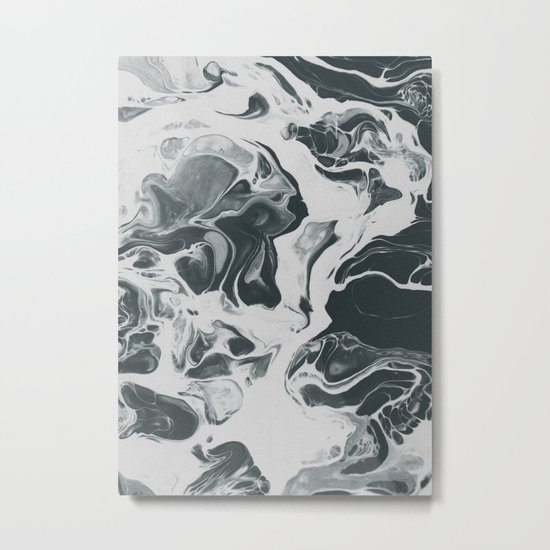 MESS IS MINE Metal Print