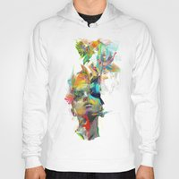 i love you Hoodies featuring Dream Theory by Archan Nair