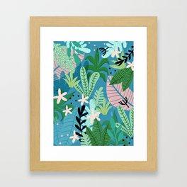 Into the jungle - twilight Framed Art Print
