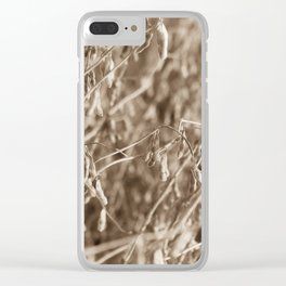 In the Fields Clear iPhone Case